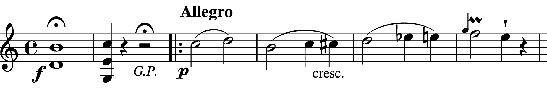 Op. 74 No.1 introduction