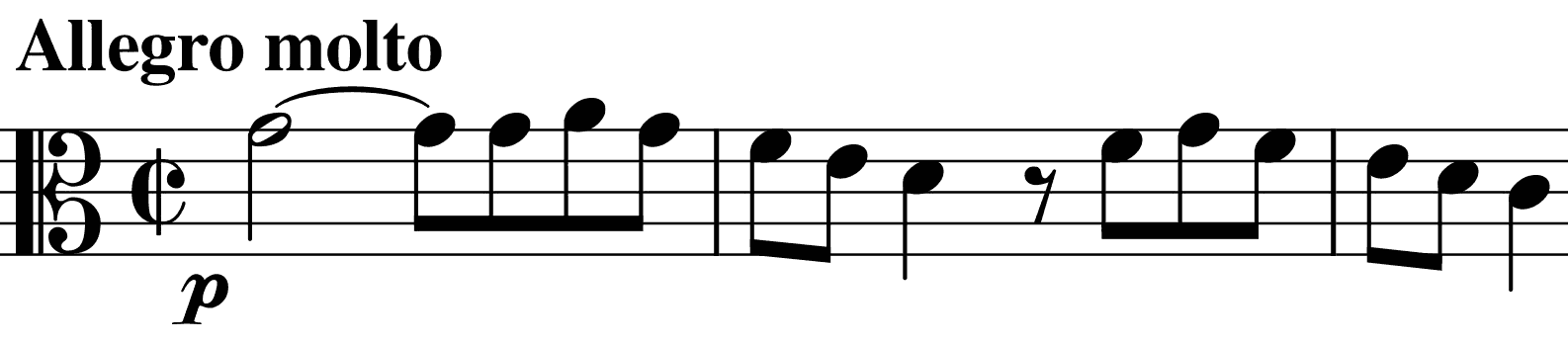 last movement's fugue