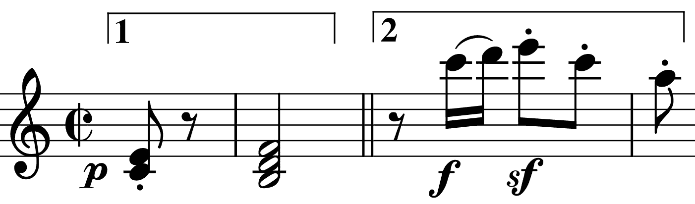 Two motifs shape the Allegro
