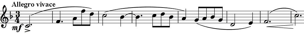 Haydn opening theme