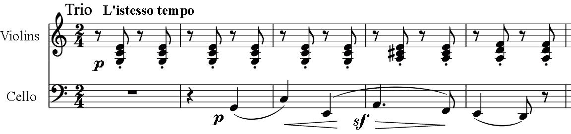 rhythmic trick