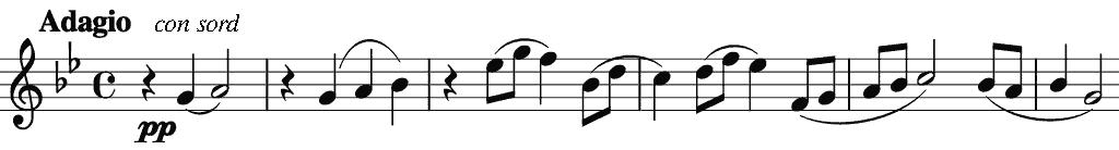 second movement's fugue