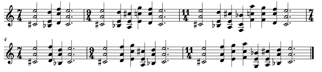 constrained six-bar phrase